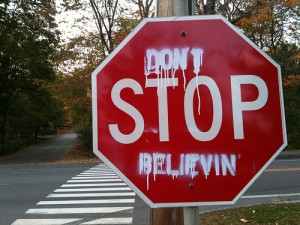Don't Stop Believin' by Juhan Sonin CC-BY 2.0