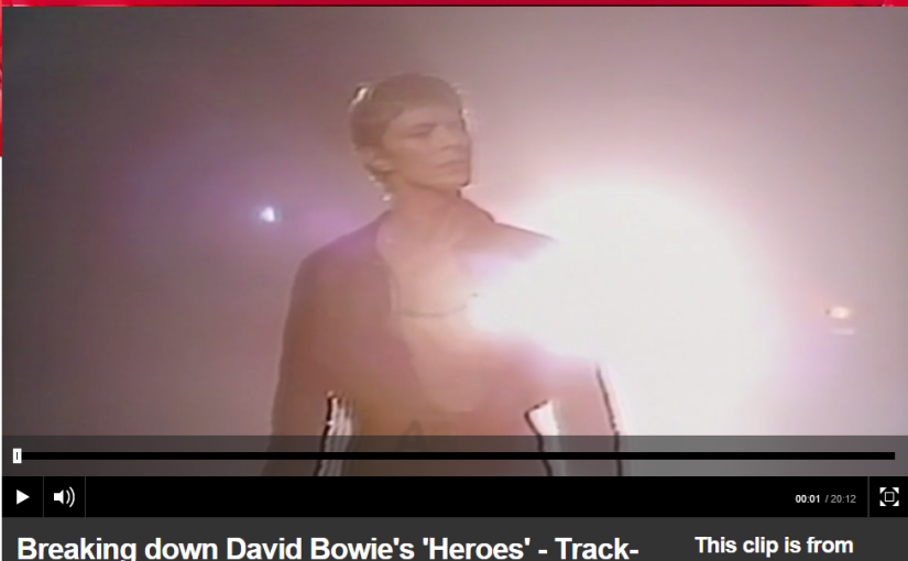"Tony Visconti – Making Bowie's ""Heroes"""