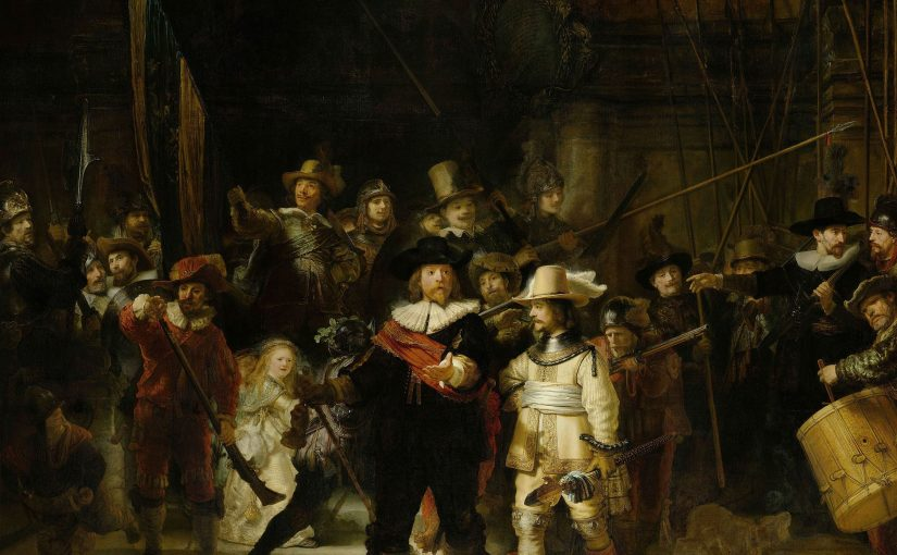 Rembrandt and the fall of Western Society (probably)